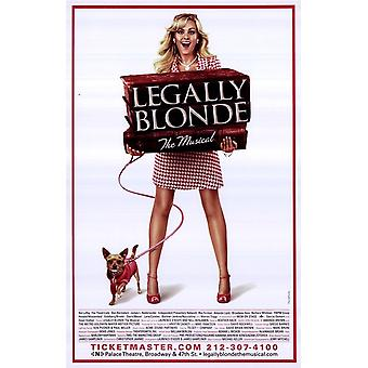 Legally Blonde - The Musical (Broadway) Movie Poster (11 x 17)