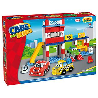 Unico Plus Service station (Toys , Vehicles And Tracks , Parking And Circuits)