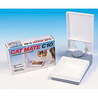 C10 Kat enkelt måltid Feeder