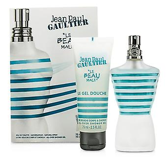 Jean Paul Gaultier Le Beau mâle Coffret : Eau De Toilette Spray 75ml / 2.5 oz + douche Gel 75 ml / 2. 5 oz 2p.