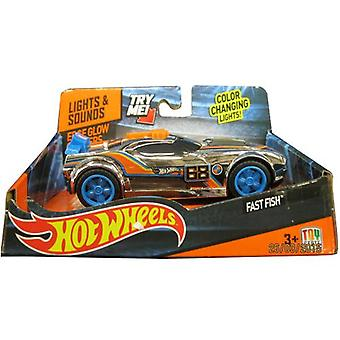 Hot Wheels Edge Glow Fish Fast Cruisers
