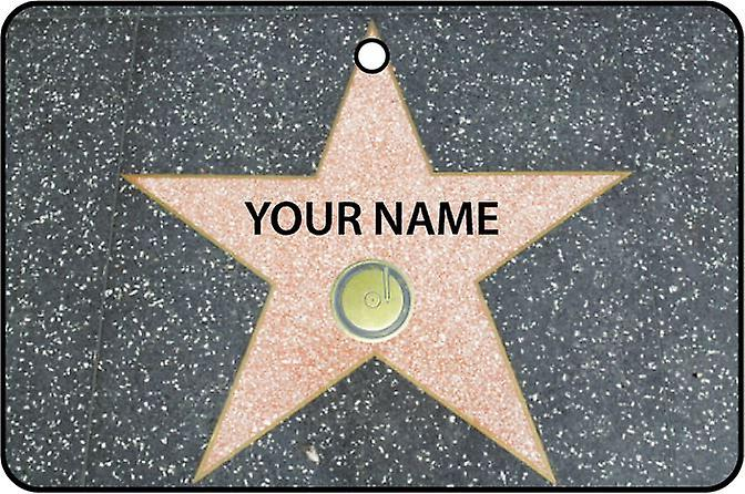 Personlig Hollywood Walk Of Fame - musikk kategorien bil Air Freshener