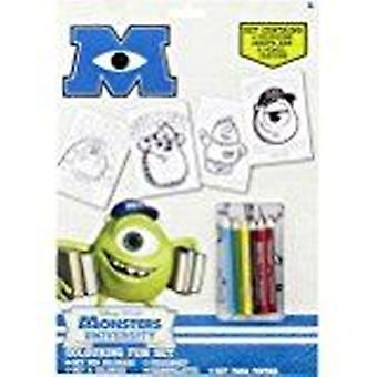 Official | MONSTER UNIVERSITY | colour fun set