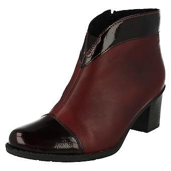 Ladies Rieker Smart Ankle Boots Z7664