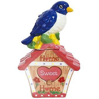 Hjem søde hjem blå fugl af lykke Salt peber Shakers Westland gaveartikler