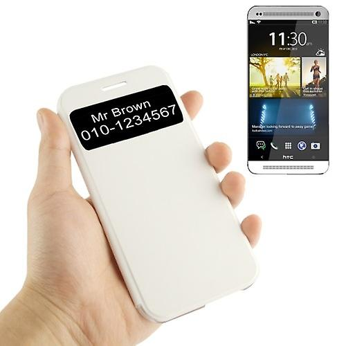 Smart cover window white HTC one 2 M8 2014