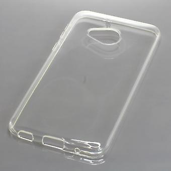 Mobile case TPU protective bumper shell for HTC case U play transparent