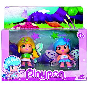Pinypon Hadas Pack De 2 (Toys , Dolls And Accesories , Miniature Toys , Mini Figures)