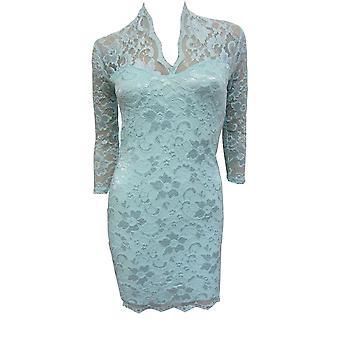 فستان أسوس بدانتيل ميدي DR750-6