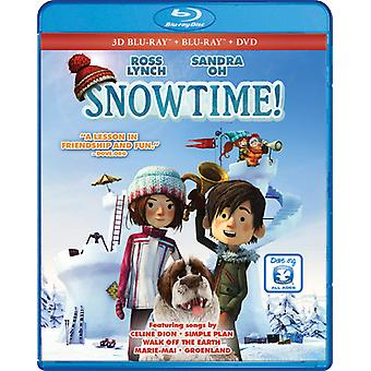 Snowtime [Blu-ray] USA import