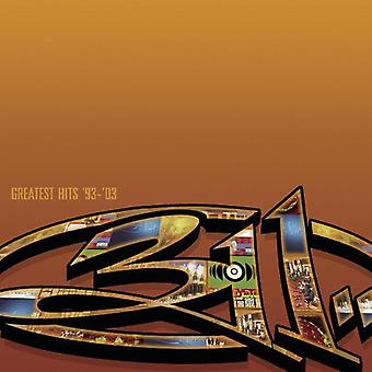 311 - Greatest Hits 93-03 [CD] USA import