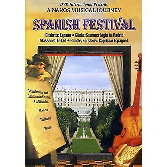 Spanske Festival [DVD] USA importerer