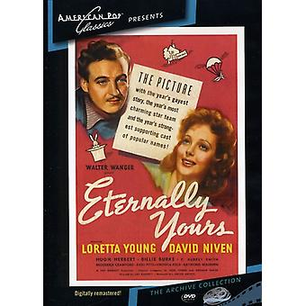 Eternally Yours (1939) [DVD] USA import