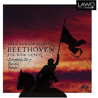 L.V. Beethoven - Beethoven for Wind Octet: Symphony No. 7 [CD] USA import