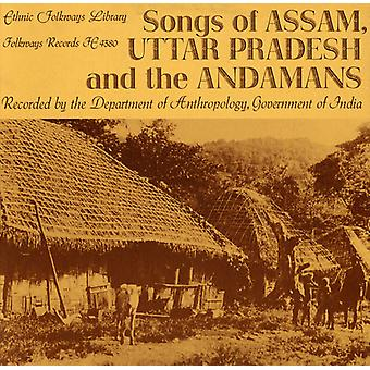 Songs of Assam Uttar Pradesh & the Andamans - Songs of Assam Uttar Pradesh & the Andamans [CD] USA import