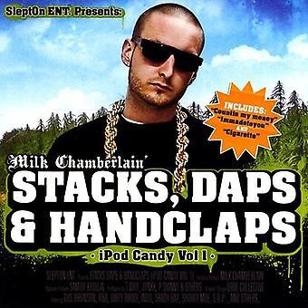 Chamberlain mleka - stosy Daps & klaskanie [CD] USA import