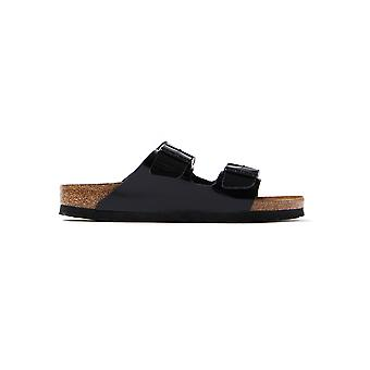 Black Birkenstock 1005292 Arizona Narrow Fit Patent
