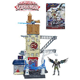 Hasbro Spiderman Play Set Web City Vulture (Giocattoli , Figure D'Azione , Scenari)