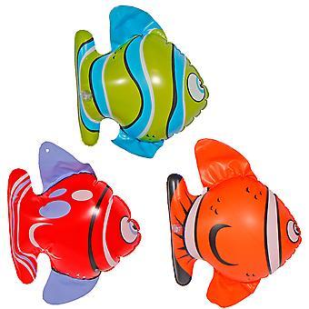 Fish Strandtier decoration inflatable 3 St. Aufblasen fish hula Hawaii beach party