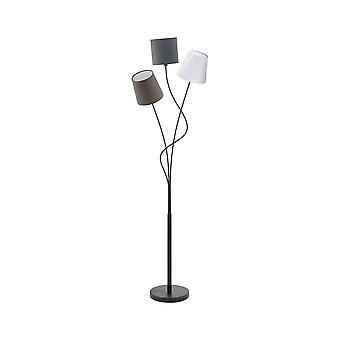 Eglo Tall Boden stehend Licht mit 3 Farben weiß, braun und grau