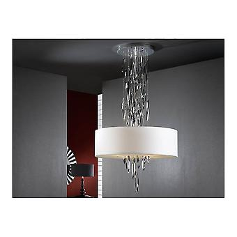 Schuller Domo Falling Chrome Crystal Pendant
