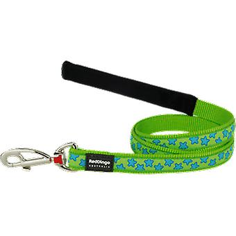 Red Dingo Strap Style Star Turquoise (Dogs , Walking Accessories , Leads)