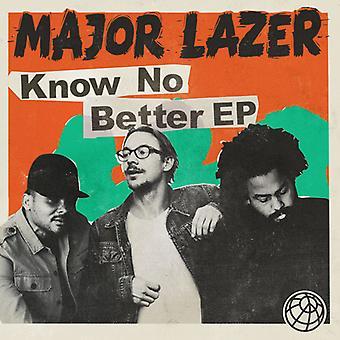 Major Lazer - ved ikke bedre [CD] USA import