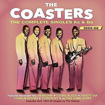 Coasters - Coasters-Complete Singles as& Bs 1954- [CD] USA import