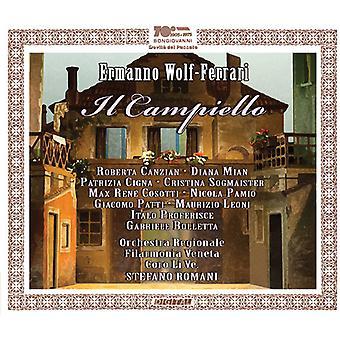 Ferrari / Canzian / Mian / Cigna / Sogmaister - Ermanno Wolf-Ferrari: Il Campiello [CD] USA import