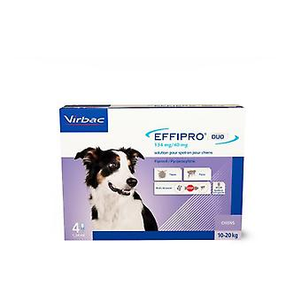 Virbac Effipro Duo spot on perro mediano (Hunde , Wurmkuren , Pipetten)