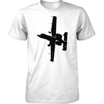 A10 Thunderbolt II Warthog Tank Buster - US Aircraft - Mens T Shirt
