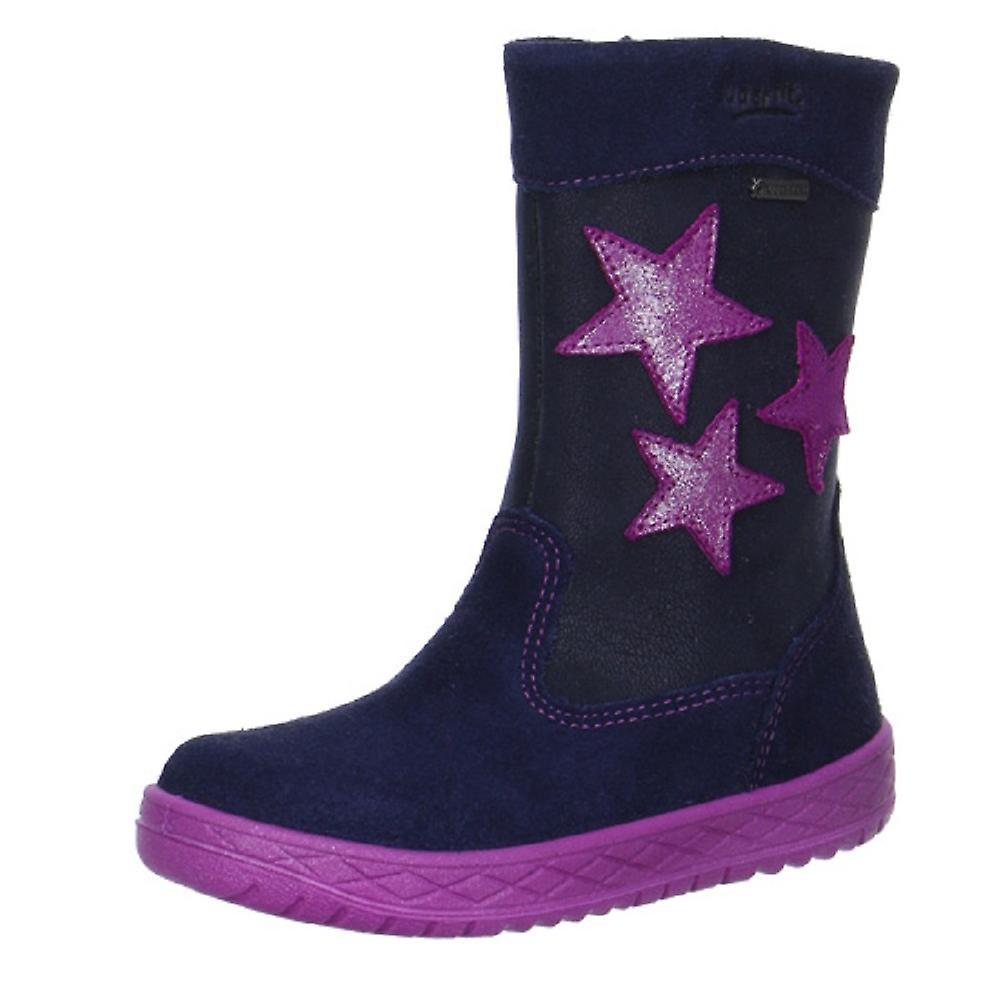 Mercure 092-81 de filles Superfit Gore-Tex bottes Ocean bleu Rose