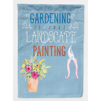 Carolines skatter BB5434GF hagearbeid er landskapet maleri flagg hage størrelse