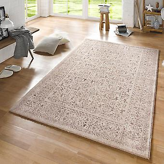 Design carpet rustic taupe cream | 102433