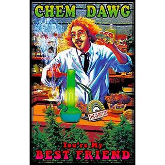 Black Light - Chem Dawg Poster Poster Print