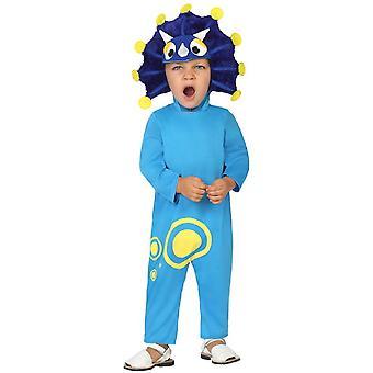 Baby kostuums kinderen Baby Blue Dragon kostuum
