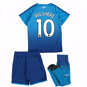 2017-18 arsenal lejos Mini Kit (Wilshere 10)