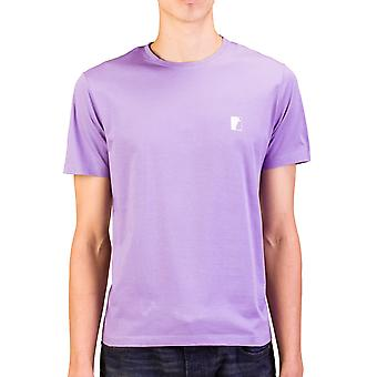 Versace collectie mannen Medusa Logo bemanning hals T-Shirt paars