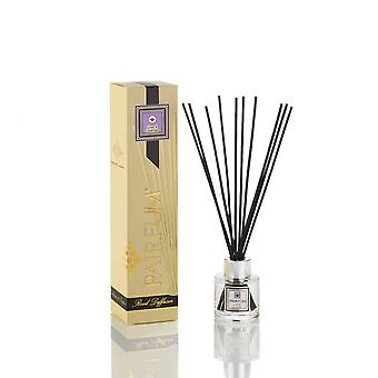 Natural Reed Diffuser - Long-lasting & Healthy - Beautiful Perfumes that Compliment You - Fragrances for 2 - 3 months (50 ml) - by PAIRFUM - Perfume: Linen & Lavender - with Black Reeds