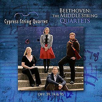Beethoven / ciprés cuarteto - importar de USA medias cuartetos [CD]
