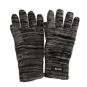 Mens Hawkins Collection Insulating Knit Winter Gloves