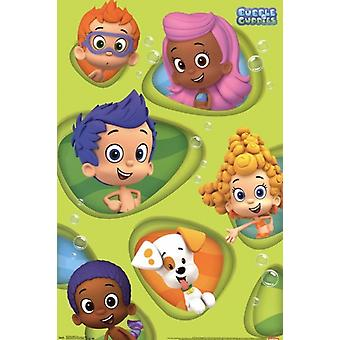 Bubble Guppies - Grid Poster Print