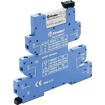 Finder 39.41.0.125.5060 - MasterINPUT Electromechanical Relay Interface Module, EMR, SPDT-CO 250Vac 6A