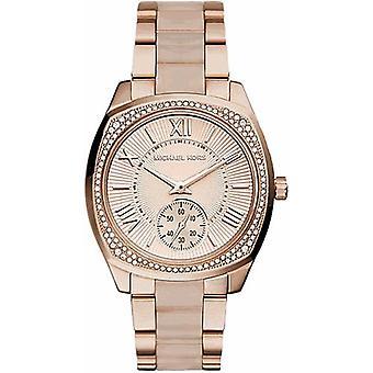 Michael Kors Ladies Rose Gold Watch MK6135