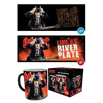 AC/DC Live Wärme Change Mug