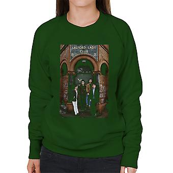 The Smiths At Salfords Lads Club Colour 1985 Women's Sweatshirt