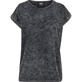 Urban Classics Ladies - EXTENDED SHOULDER Random Wash Shirt