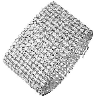 Iced Out Bling Hip Hop Armband - RAPPER 12 ROW