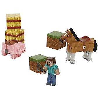 Giochi Preziosi Minecraft-Saddle Pack (Babies and Children , Toys , Action Figures)
