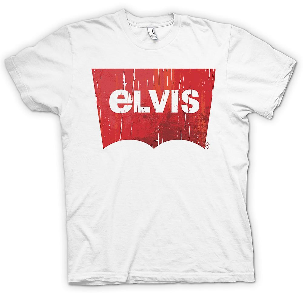 Womens T-shirt - Elvis - Levis Inspired